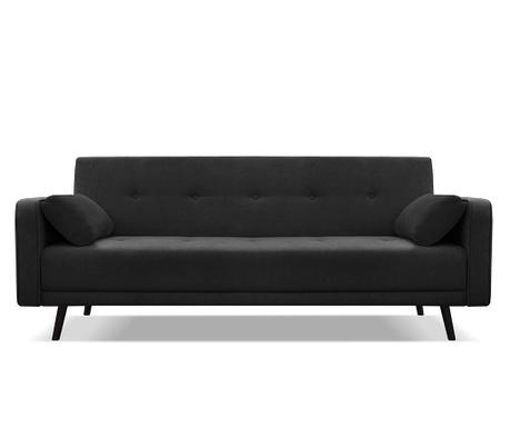 Rozkładana kanapa trzyosobowa Bristol Black