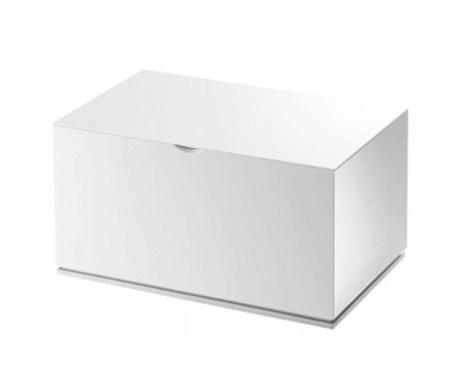 Cutie cu capac pentru depozitare Zion White