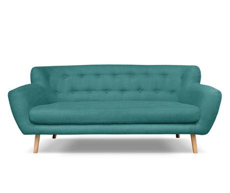 Canapea 3 locuri London Turquoise