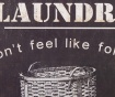 Stenska dekoracija Laundry