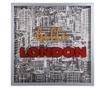 Tablou Hello London 80x80 cm