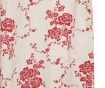 Draperie Sologne Red 150x270 cm