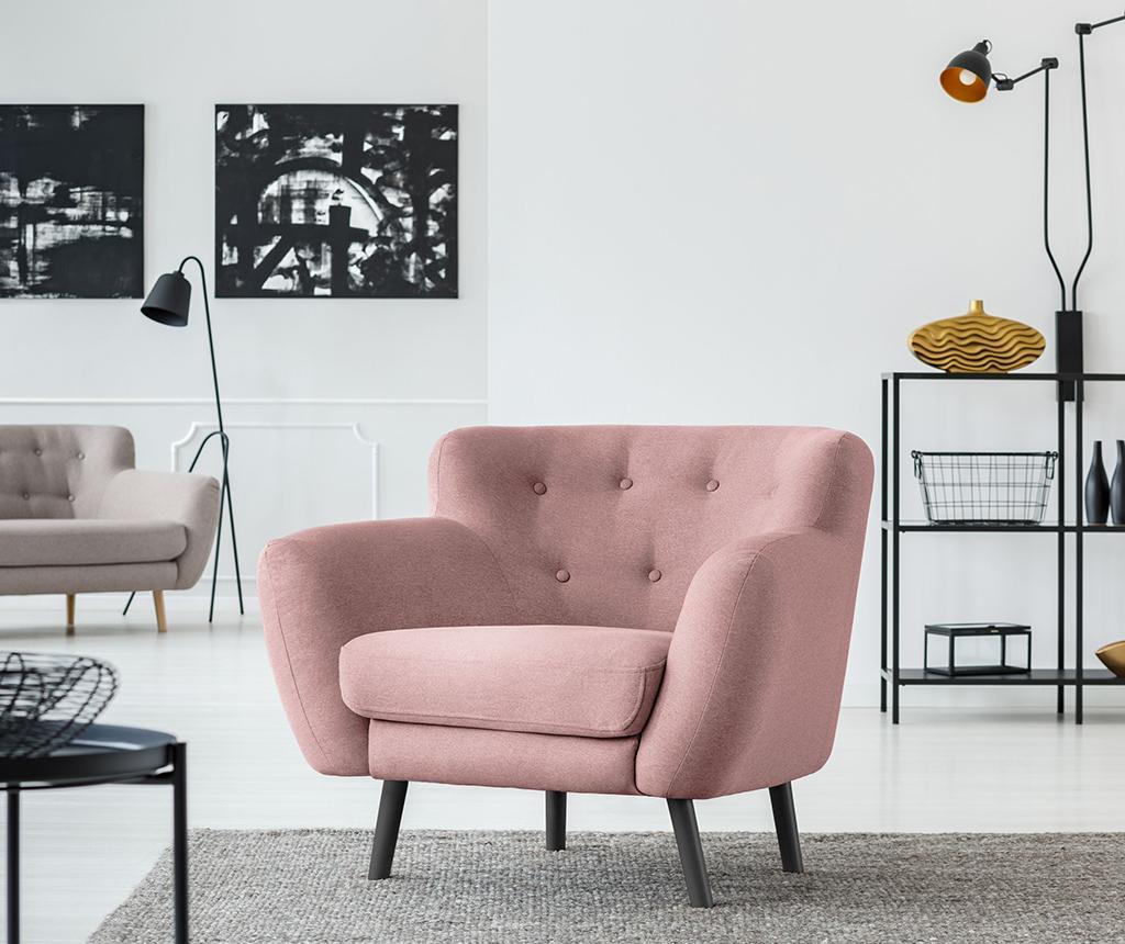 Fotelj Hampstead Light Pink
