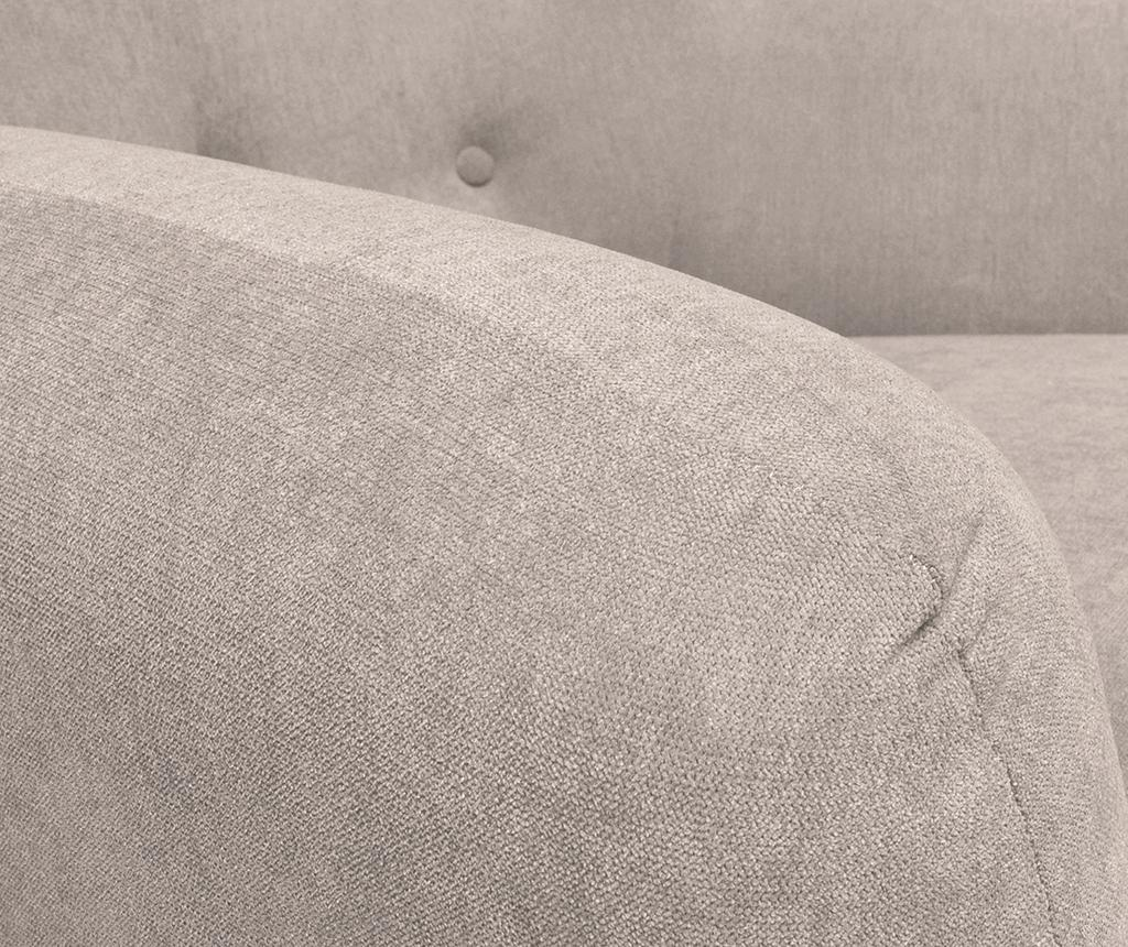 Canapea 3 locuri London Poly Taupe
