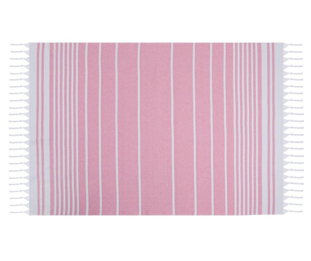 Prosop de plaja Sultan Pink 100x170 cm