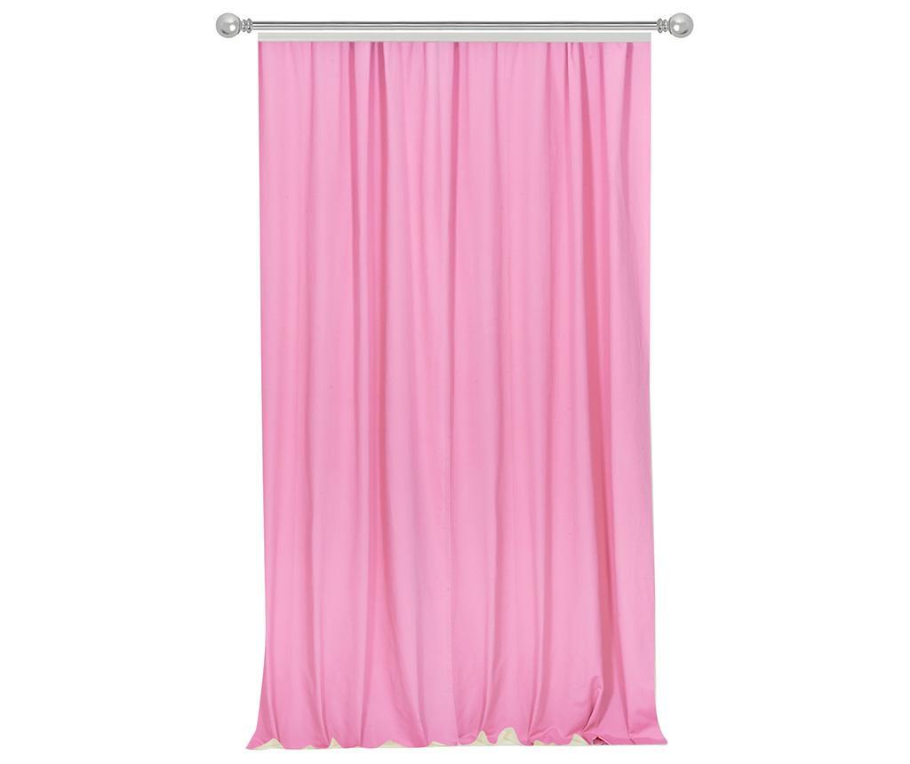 Záves Simple Pink 170x270 cm