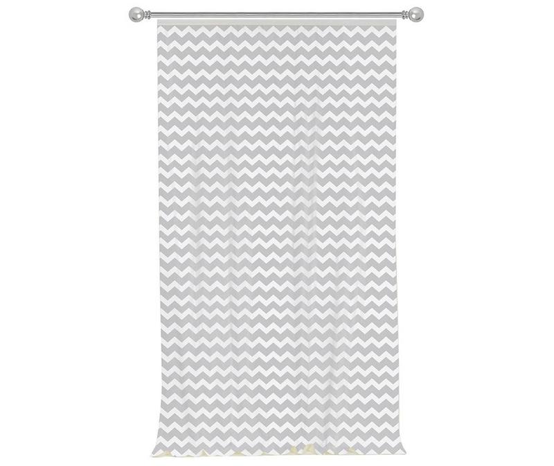 Zig Zag Grey Sötétítő 140x270 cm