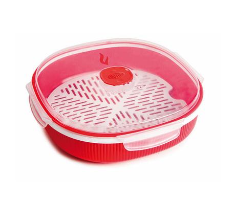 Airtight Red Edény gőzfőzésre 2 L