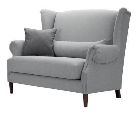 Canapea 2 locuri Alpaga Light Grey