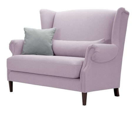 Canapea 2 locuri Alpaga Lilac