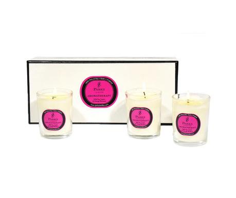 Set 3 dišečih sveč Parks Fig & Cassis