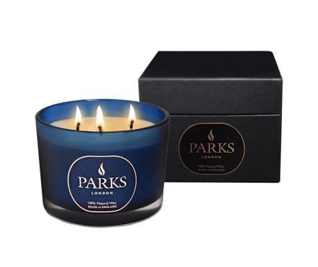 Dišeča sveča s 3 stenji Parks Moods Roses & Jasmine
