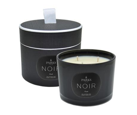 Lumanare parfumata cu 3 fitiluri Parks Noir Oud