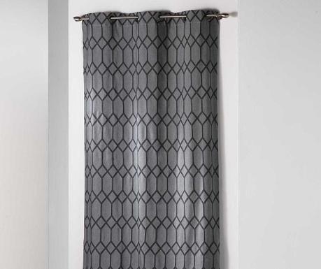 Zasłona Monalise Grey 140x260 cm