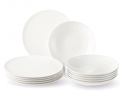 Set de masa 12 piese New Fresh Basic