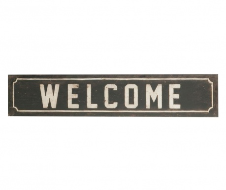 Decoratiune de perete Welcome