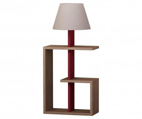 Lampadar Saly  Oak Claret Red