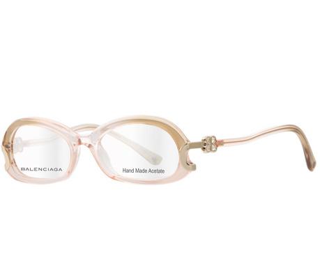 Oprawka do okularów damskich Balenciaga Pink