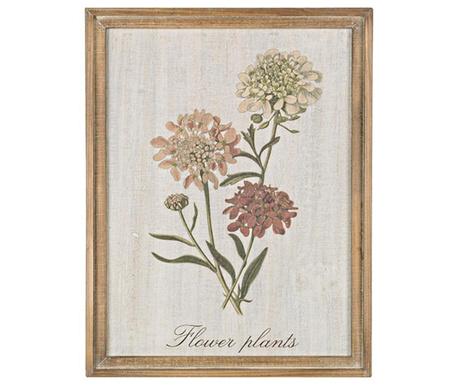 Greenery Flower Festmény 35x45 cm