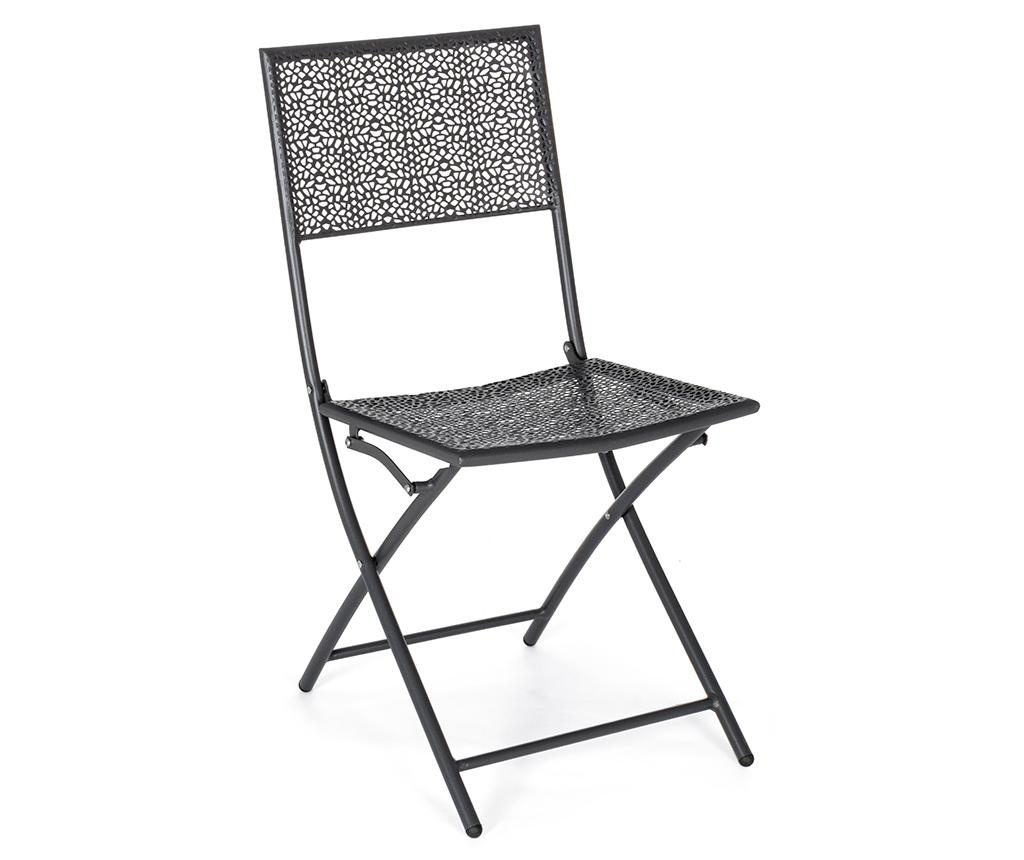 Sklopiva stolica za vanjski prostor Kennen Dark Grey