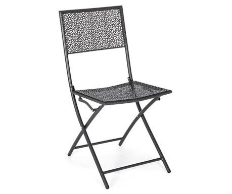 Venkovní skládací židle Kennen Dark Grey