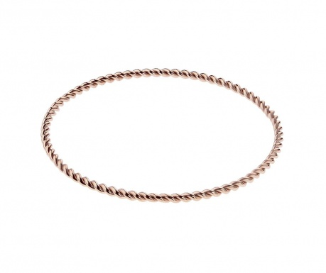 Swirl Rose Gold Karperec