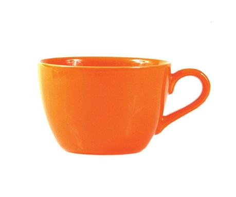 Kubek śniadaniowy Flowers Orange 505 ml