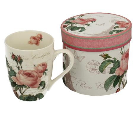 Hrnek Pink Rose 300 ml