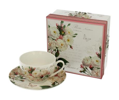 White Rose Csésze és kistányér