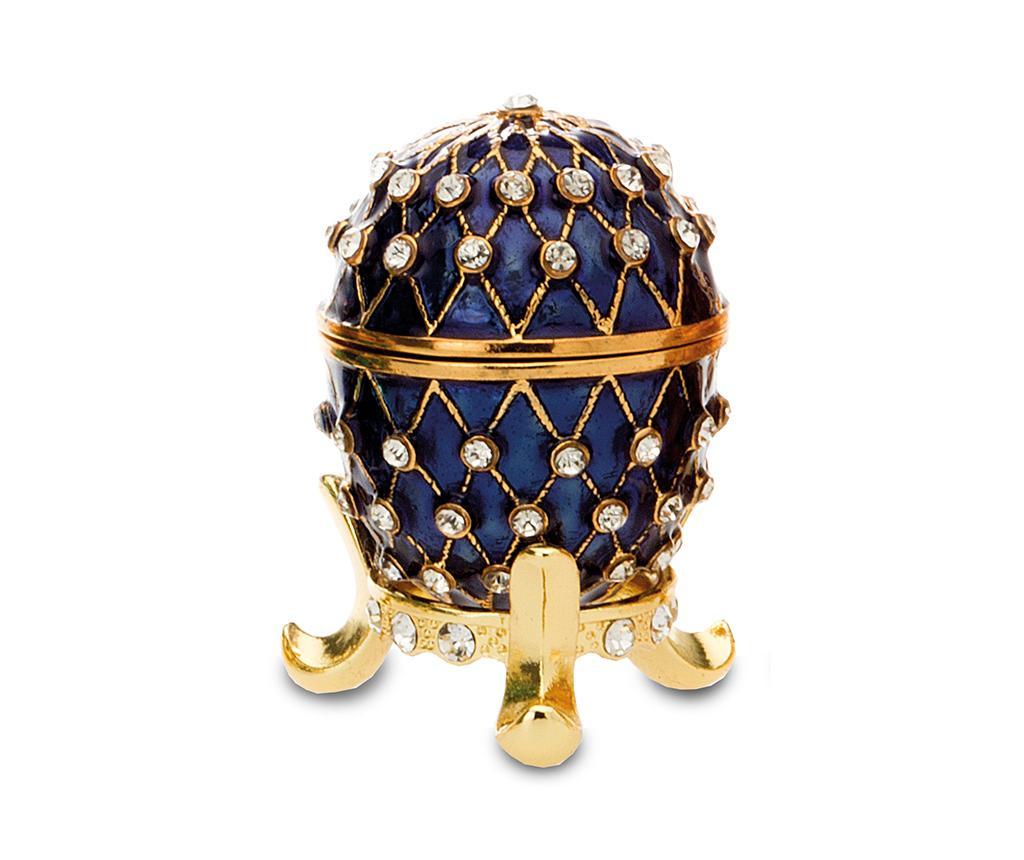 Cutie decorativa Crown Blue