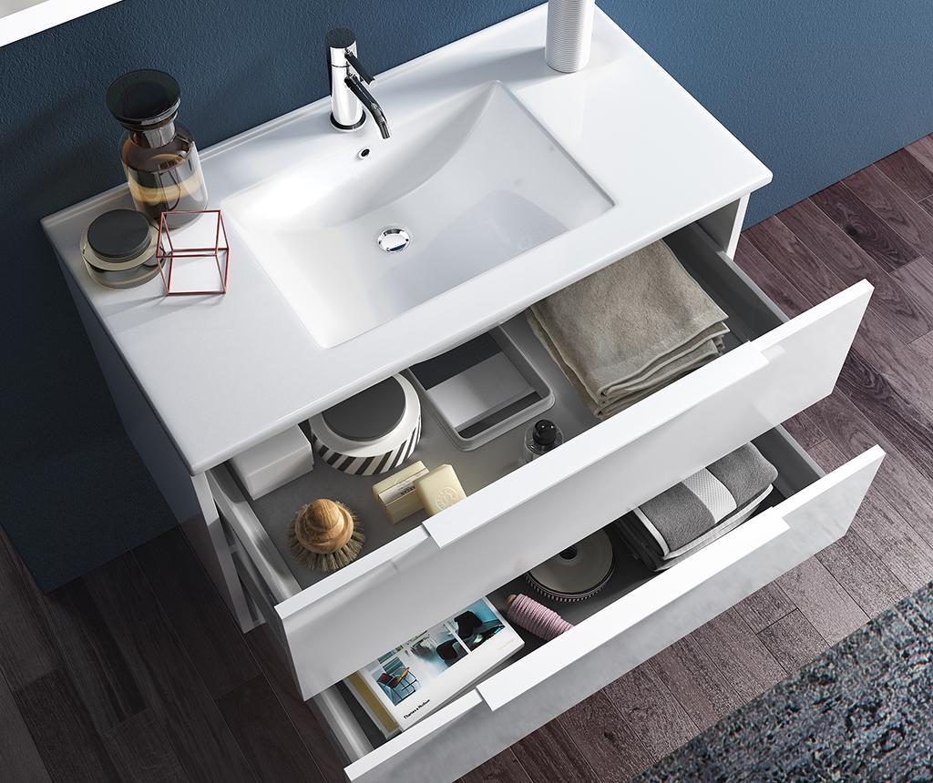 Sada nábytku do kúpeľne 4 ks Luna Luke  White