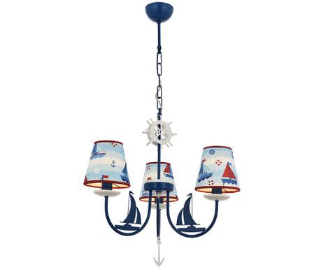 Stropna svetilka Boat Blue