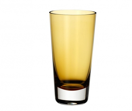 Pahar Colour Concept Long Drink Brown 420 ml