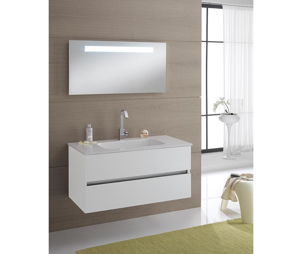 3-dijelni set namještaja za kupaonicu Bali Actual Twist White