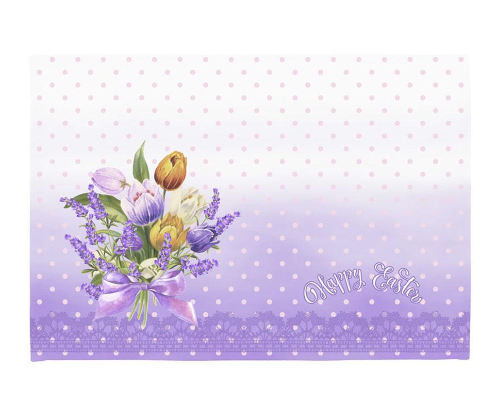 Set 2 podmetača Easter Bouquet 33x45 cm