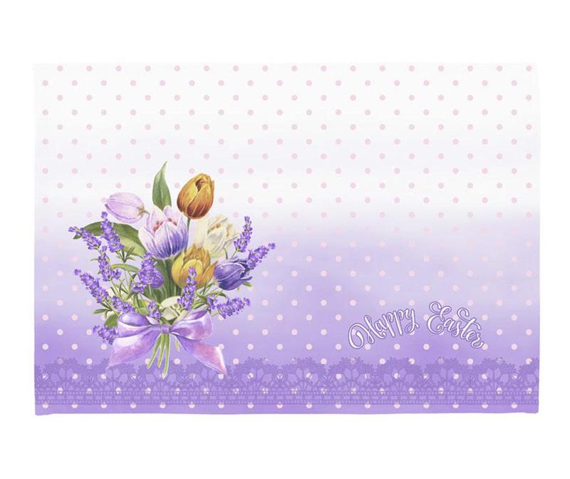 Σετ 2 σουπλά Easter Bouquet 33x45 cm