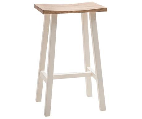 Barski stol Hudson White
