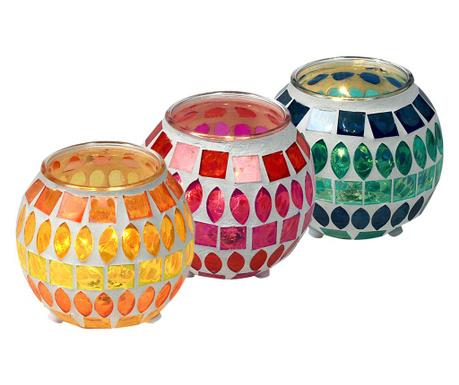 Sada 3 svetelných dekorácií Damia