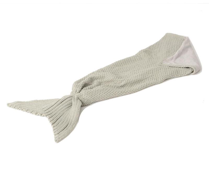 Pokrivač Mermaid Grey 33x105 cm