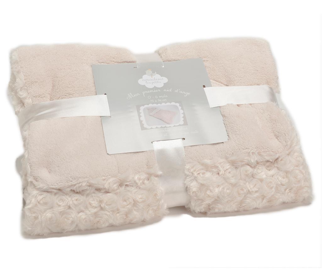Vreća za spavanje Little Roses Cream 0-6 mj.