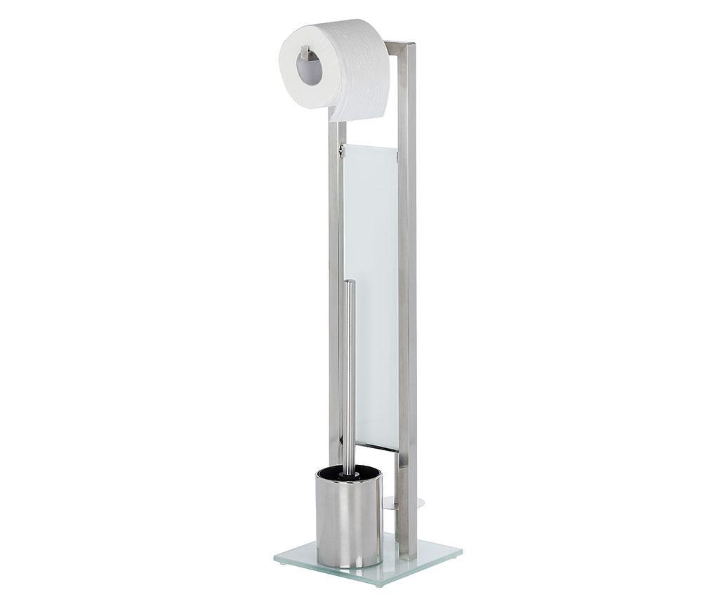 Držač za toaletni papir i toaletnu četku Granite Look