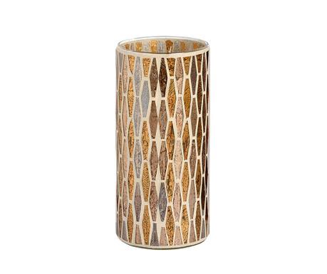 Podstavec na svíčku Mosaic Brass L