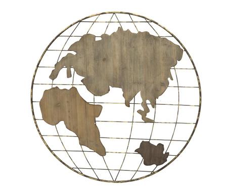 Map Fali dekoráció