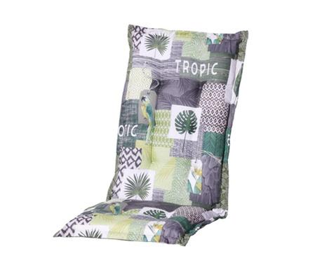 Sedežna in naslon blazina Tropic Green 50x123 cm