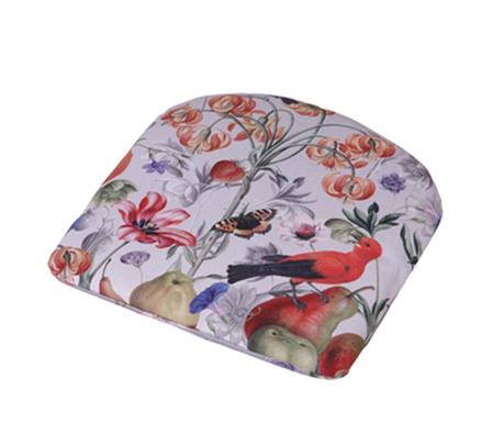 Sedežna blazina Orangerie Grey 46x48 cm