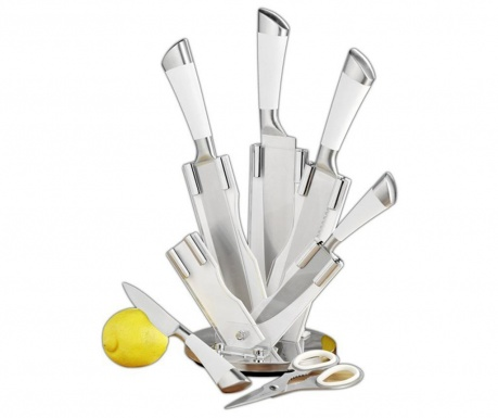 Sada 5 nožov, nožnice s držiakom Quasere