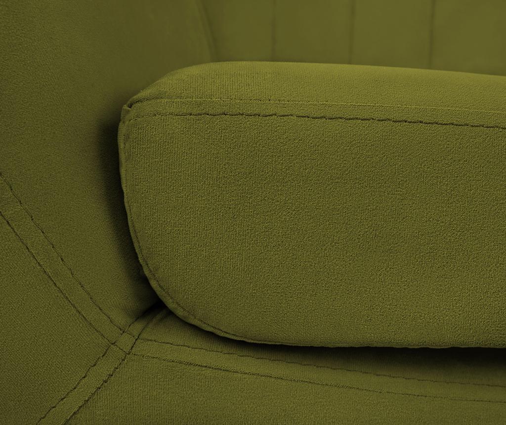 Canapea 3 locuri Toscana Green