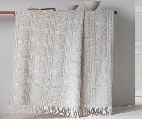 Одеяло Braid Pearl 130x170 см