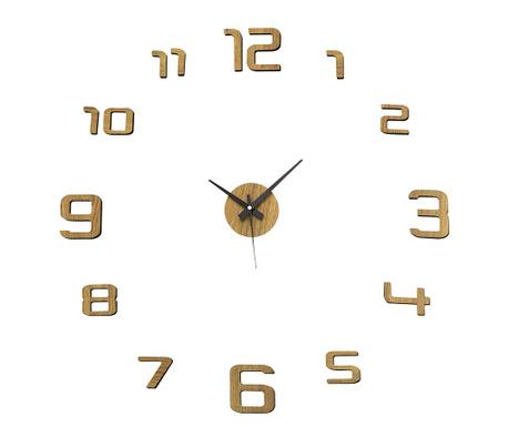 Zidni sat naljepnica Golden Round