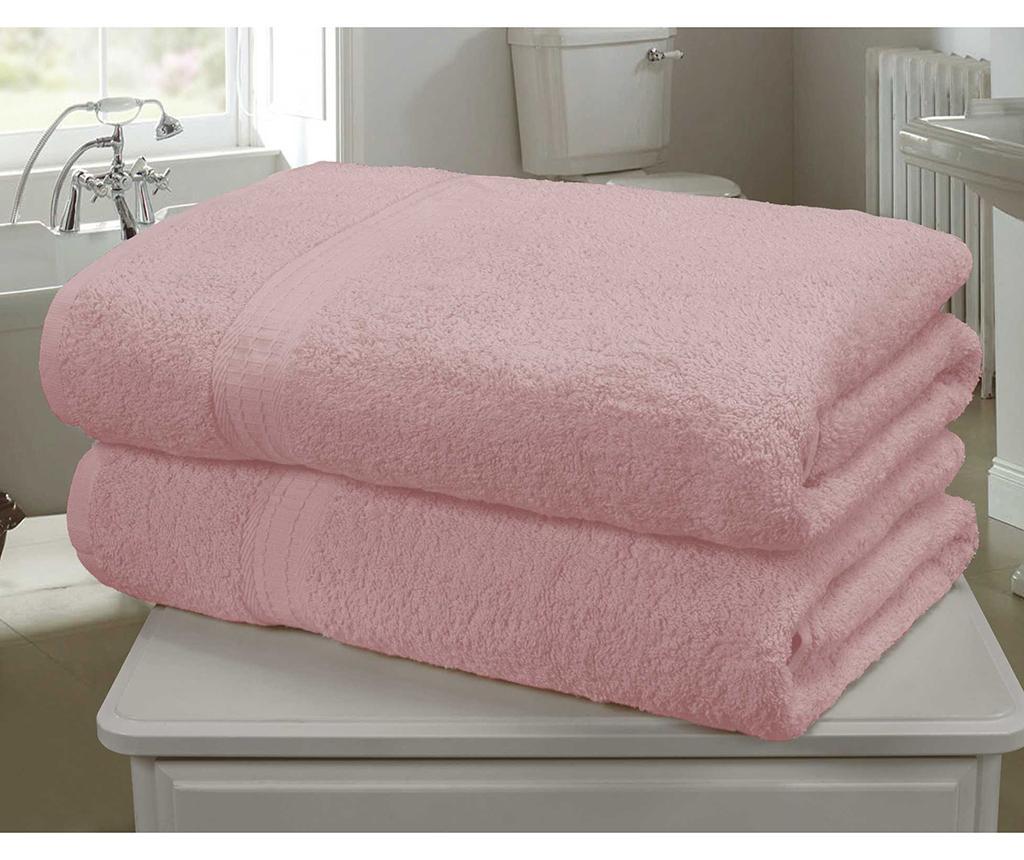 Set 2 kopalniških brisač Royal Kensington Pink 90x140 cm